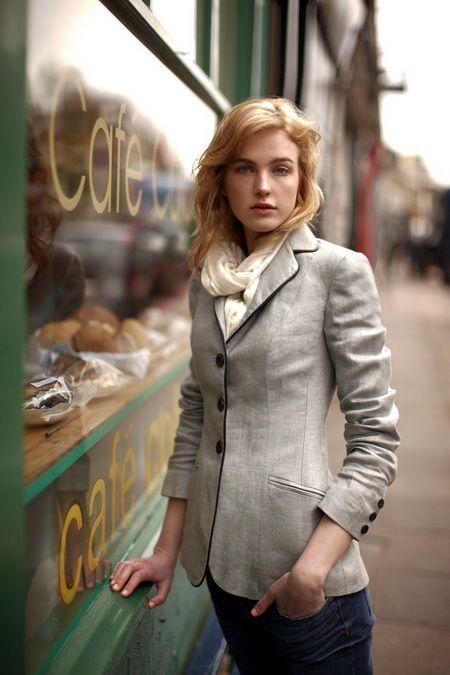 像巴黎女人一样优雅穿西装
