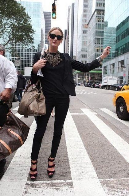 摩登女性的时尚职业装范本